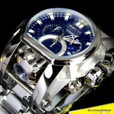 NEW Invicta Reserve Bolt Zeus Magnum Swiss Blue Steel Dual Movement 52mm Watch