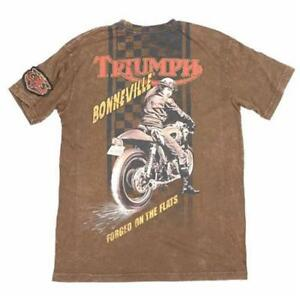 TRIUMPH UHL FORGED ON THE FLATS T-SHIRT MEN'S TEE $49.99 NOW $36.99 ALL SIZES!