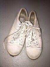 Classic K Swiss Suede Canvas Sneakers Sz 10