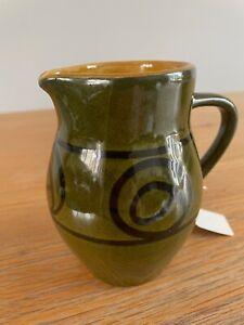Small ceramic milk jug, Made Devon England