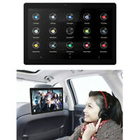 10.1 Inch Android 8.1 Car Headrest Monitor Touch Screen MP5 Video Player With DC