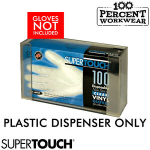 Supertouch Dispenser For Disposable Gloves in Boxes Wall Mounted Hygiene Plastic