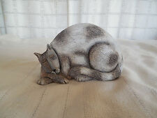Marla McCartty resin sleeping cat figure