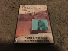 ENCOUNTERS WITH UNEXPLAINED, DVD, NOAH'S ARK ON ARARAT:IT REALLY NOAH'S ARK? DVD
