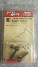 Uncle Mike's Swivel Studs Fits Most Bolt Action Rifles Rifle Sling Mounts 2500-0