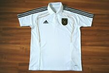 GERMANY NATIONAL TEAM 2010-2011 FAN POLO FOOTBALL SHIRT JERSEY ADIDAS LARGE