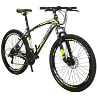 "Mountain Bike Front Suspension Shimano 21 Speed Mens Bikes MTB 27.5"" bicycle L"