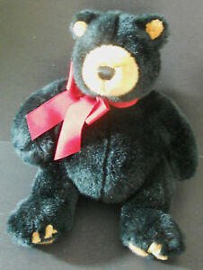 Gund Holiday Blakeford Bear Small Black 88902