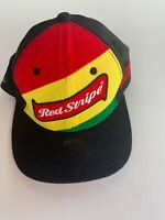Red Stripe baseball cap hat snapback embroidered Hooray Beer Jamaica OS