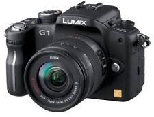 Panasonic Digital Slr Lumix G1 Lens Kit Con Photo Black Dmc-G1K-K