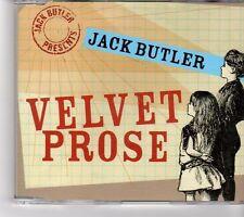 (FM343) Jack Butler, Velvet Prose - 2006 CD