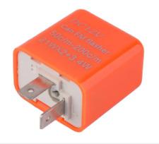 Rele FRECCE moto 12volt led  flasher VELOCITà  regolabile PERSONALIZZABILE 2pin