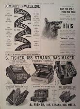 "1896 ADVERT BEETHAMS CORN & BUNION PLASTER-OGDEN'S ""GUINEA GOLD"" CIGARETTES"