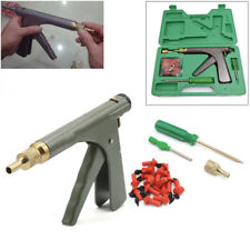 Motorcycle Tire Plugger Tubeless Tyre Wheel Repair Gun Kit Plug Rubber Onboard