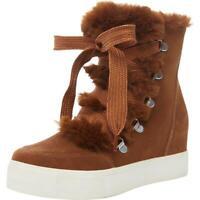 Steve Madden Womens Wharton Brown Sneaker Boots Shoes 7 Medium (B,M) BHFO 8784
