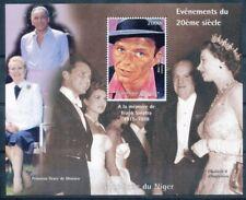 [36183] SUP||**/Mnh || - Niger 1998 - Frank Sinatra dans un bloc feuillet, Eliza