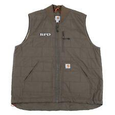 VGC CARHARTT Quilted Bodywarmer Jacket | Men's XL | Gilet Vest Vintage Work Wear