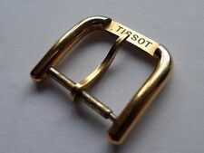 TISSOT VINTAGE G/PLATED 16MM WATCH STRAP BUCKLE EXCELLENT CONDITION