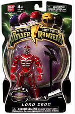 "Mighty Morphin Power Rangers 4"" Lord Zedd New New Factory Sealed 2010 Evil Alien"