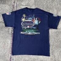 Majestic MLB New York Yankees 2008 All Star Game Baseball Shirt Mens XL