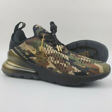 Nike Air Max 270 Doernbecher 2018 Freestyle Camo Gold Men's Size 7.5 Shoes