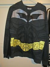 BATMAN THE DARK KNIGHT MEDIUM JACKET WITH MASK AND CAPE PRE OWNED