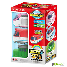TITIPO & Friends Pullback Gear Mini Train Car Toy-Series V.1 Diesel,