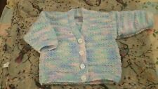 Baby cardigan multi-colour 0-3 months