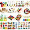 Baby Kid Children Intellectual Developmental Educational Game Wooden Toy New A#S