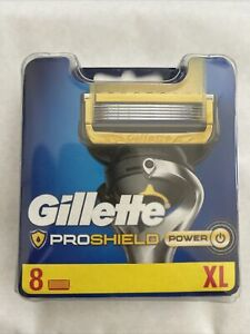 Gillette Proshield Power Razor 8 Pack GENUINE
