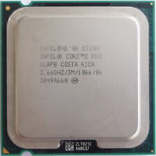 Intel Core 2 Duo CPU E7300 2.66GHz Dual Core Processor 1066 MHz SLAPB Dual core
