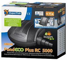 Superfish regelbare Teichpumpe Pond Eco plus RC 5000 (7070210)