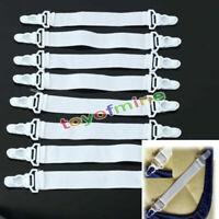 8pcs fissaggio contenere grip clip elastiche Gripper Copriletto