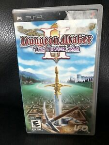 Dungeon Maker II 2 The Hidden War Sony PSP Complete Tested