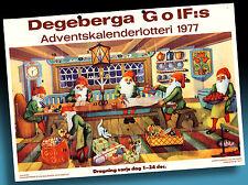 SCHÖNER ALTER ADVENTSKALENDER 1987 > WICHTEL WEIHNACHTSVERSAND > GOLF LOTTERIE 1