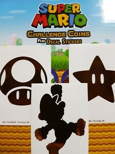 Super Mario Decal Stickers - YOU PICK FROM LIST