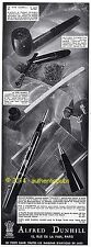 Publicite alfred dunhill lighter tallboy door plume pipe 1933 french ad pub