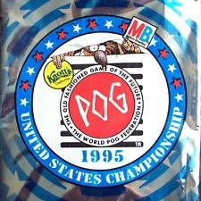 POGS 1995 Sealed USA WPF TOURNAMENT KNOTTS FOIL PACK - SUPER ULTRA RARE POG SHOP