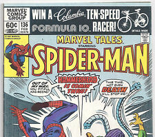 The Amazing Spider-Man #159 Reprint in MARVEL TALES #136 from Feb. 1982 in VG/F
