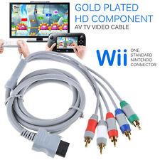 Plated High HD Component AV Video Kabel für NINTENDO WII Konsole LF