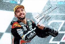 Jonas FOLGER SIGNED KTM Aprillia MOTO2 Rider 12x8 Autograph Photo AFTAL COA