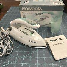 Rowenta Compact Steam Iron - Stainless Steel Soleplate
