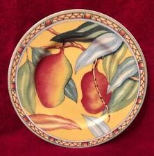 Andrea By Sadek Trade Winds Salad/Dessert Plate • Mango