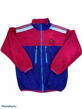 Vintage Nike ACG Makala Women's Fleece Zip Up Jacket Sz Medium Pink Hiking Rare