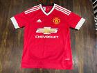 Manchester United Home Football Shirt Jersey Trikot 2015 2016 Adidas 13-14 Years