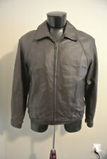 Members Only Heavy Leather Jacket Size M - NWOT