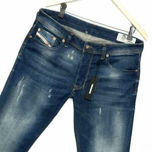 ⭐ Mens Diesel Larkee R4XT8 regular-straight fit stretch denim jeans size W36 L32