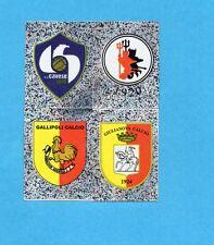 PANINI CALCIATORI 2006-2007- Figurina n.F1/4-CAVESE+FOGGIA+GALLIPOL-SCUDETTO-NEW