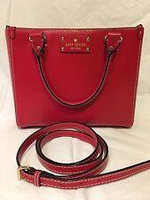Kate Spade Small Wellesley Quinn Handbag - Lacquer  Red
