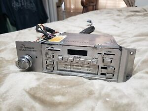VINTAGE 1980-1983 LINCOLN MARK VI / TOWN CAR QUADRASONIC AM- FM 8-TRACK RADIO